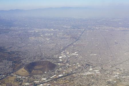Aerial view Mexico City