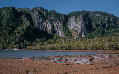 Krabi Beach Mountains