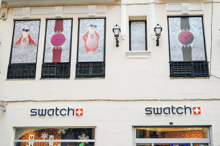 MADRID SPAIN 26TH DECEMBER 2019 Swatch store in Madrid