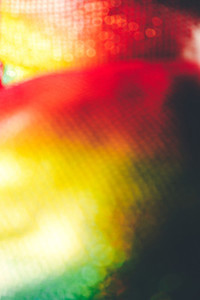 Abstract and colorful bokeh image