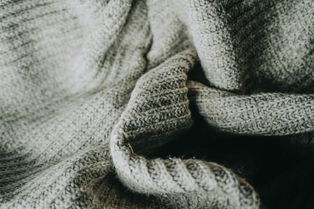 Detail of woolen warm clothes