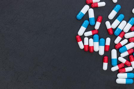 Drugs pills capsules