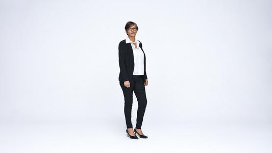 Senior businesswoman looking at camera