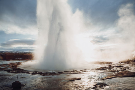 Great Geyser  Iceland