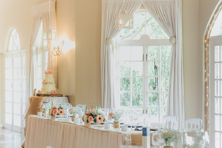 Bride and Grooms Wedding table