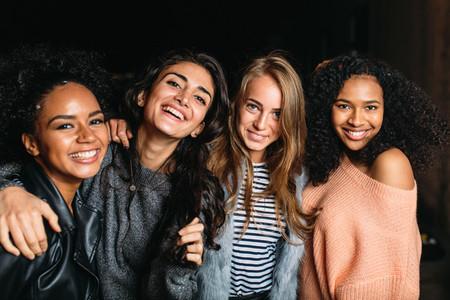 Four beautiful women