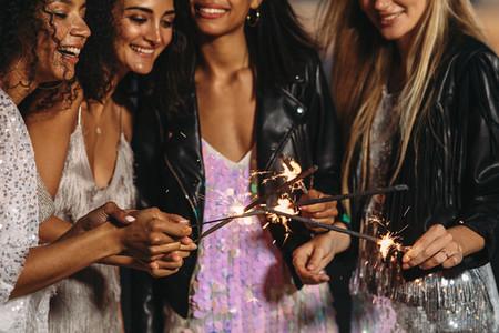 Four stylish women