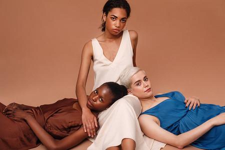 Portrait of three women