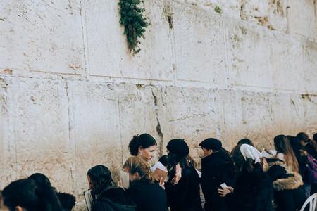 The Western Wall  Wailing Wall  Israel