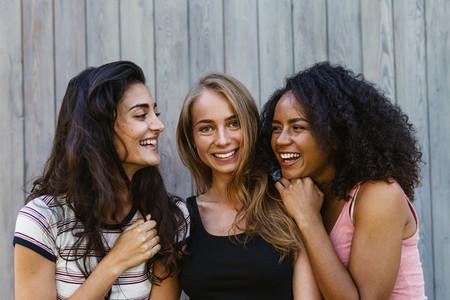 Three beautiful young women