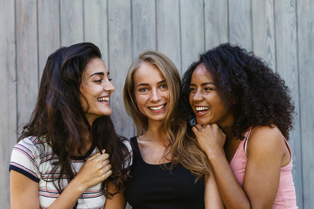 Three beautiful young women