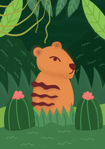 Forest Animal 07