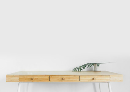 Living Room desk mockup