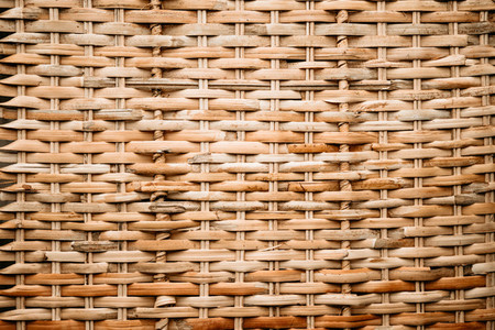 Rattan natural texture full frame background