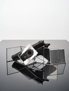Still life abstract of gun