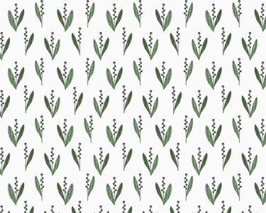 Illustration of snowdrop flowers on white background