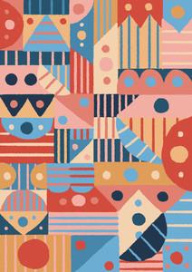 Geometric Pattern 08