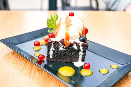 Cake on a restaurant table 01