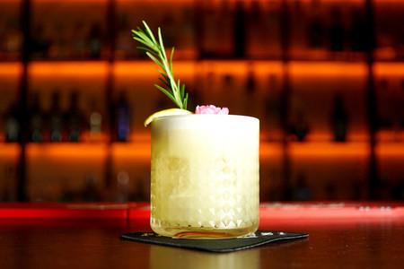 Cocktail on a restaurant table