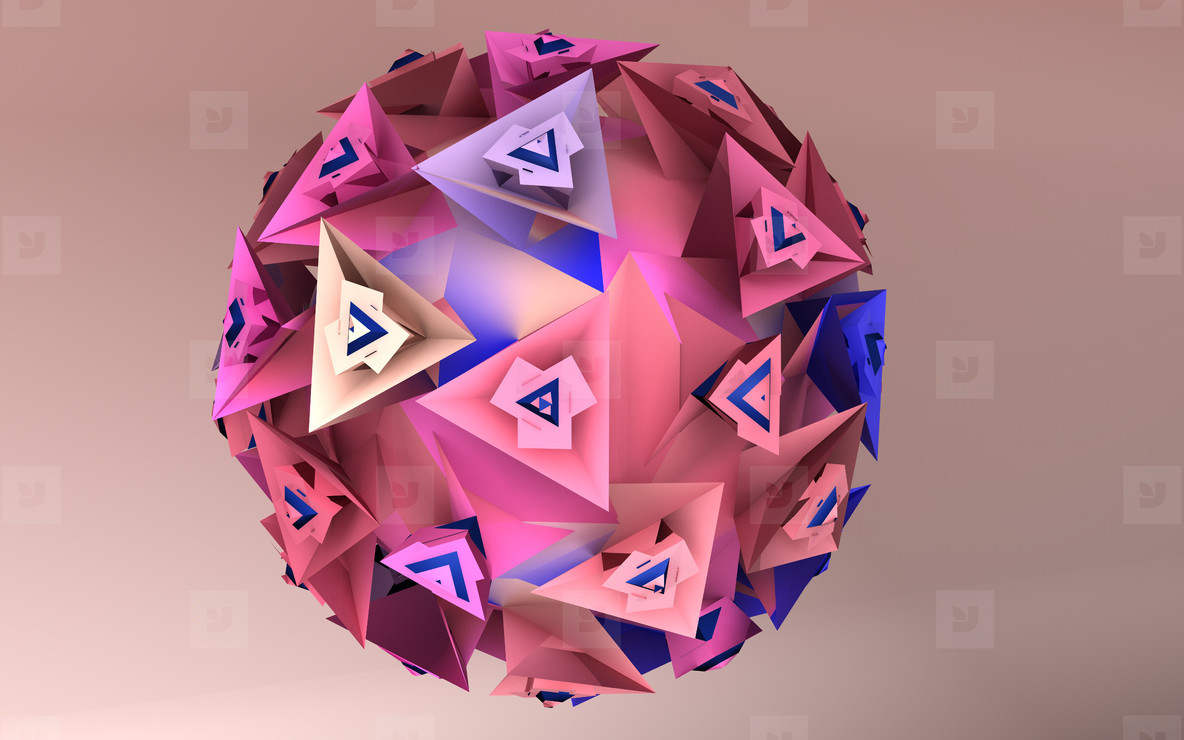 abstract virus