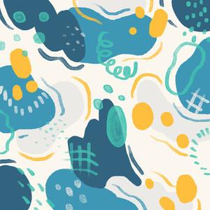 Hand drawn seamless pattern 01