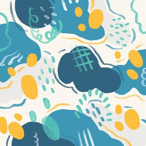 Hand drawn seamless pattern 02