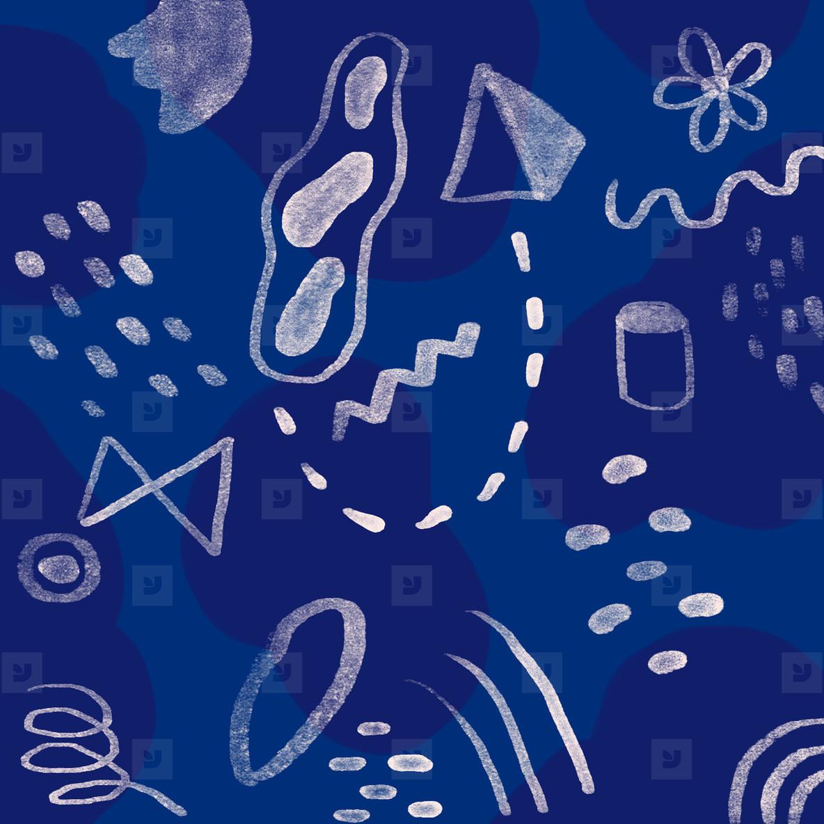 Hand drawn seamless pattern 04