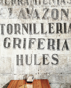 Font wall