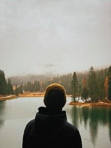 Looking lake