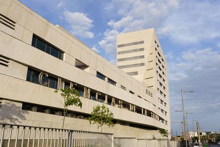 Building of the College of Health Sciences of the University of Granada