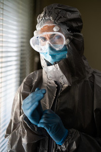 Female Doctor in PPE Personal Protective Equipment