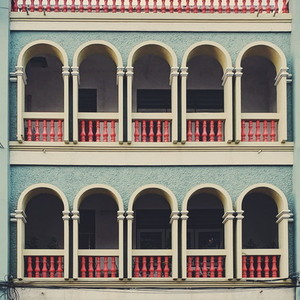Decorations of building
