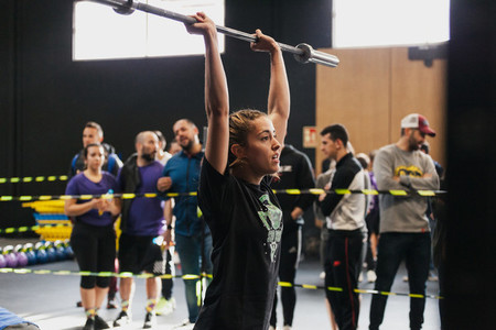 April 14 2019   Arganda del Rey Madrid Spain 4th Interbox crossfit league in Arganda del Rey Madrid