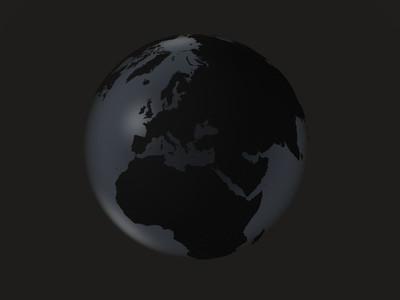 black globe     europa