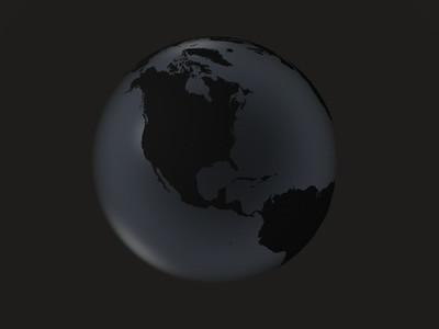 black globe     america