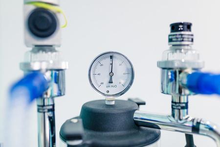 Oxygen inhalation equipment at the hospital room
