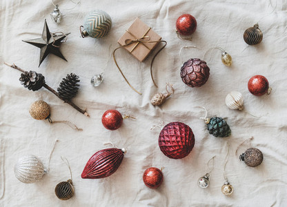 Christmas or New Year holiday background  texture and wallpaper