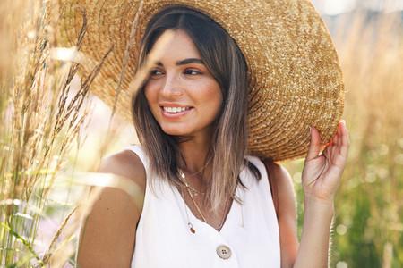 Beautiful caucasian woman
