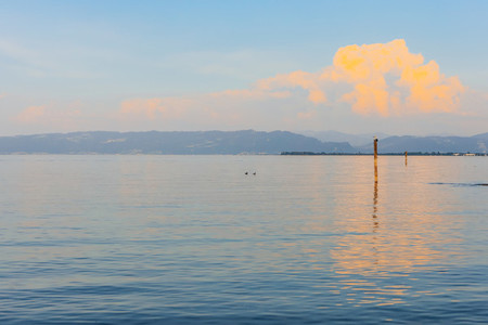 Lake Konstanz  Lake Constance  Arbon  Switzerland