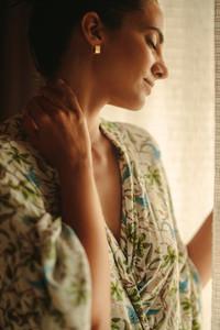 Close up of a sensual woman