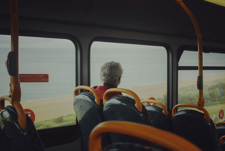 Travel in bus