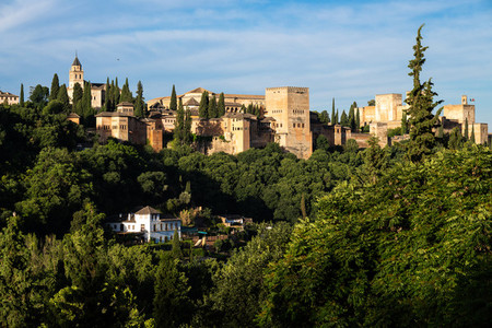 Photo of Alhambra of Granada from Albaicin