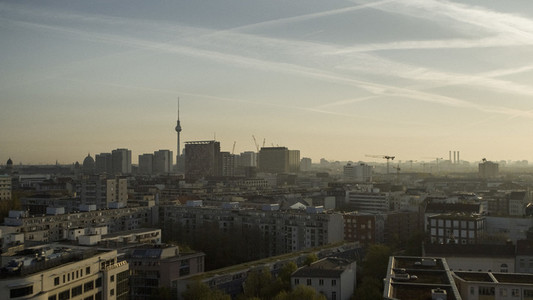 Berlin cityscape and Television Tower
