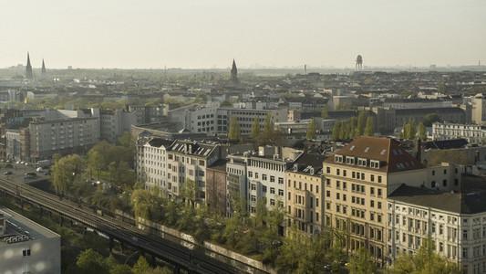 Sunny buildings Berlin
