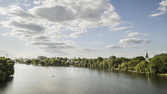 Sunny view Spree River
