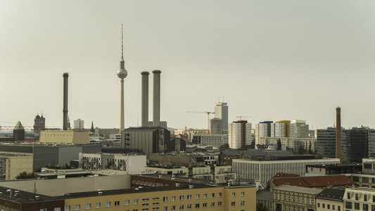 Television Tower and skyline