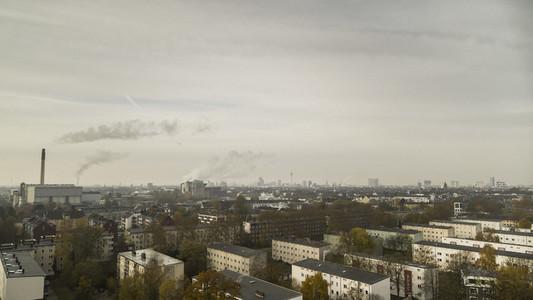 Duesseldorf cityscape