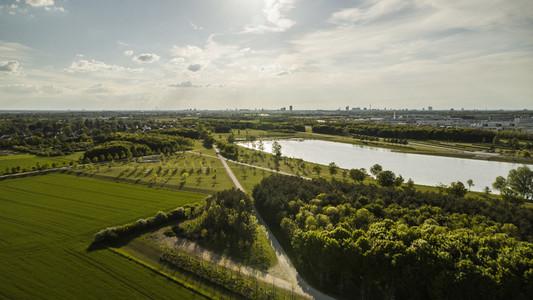 Sunny green Hirschgarten