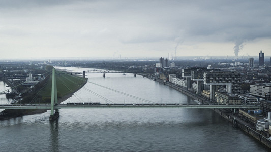 Bridges over Rhine River