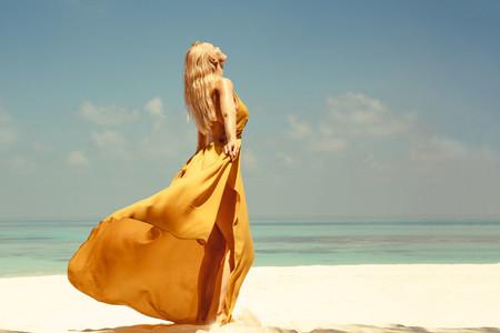 Summer vacation at a beach